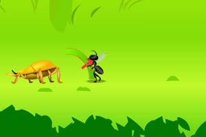 甲虫蚂蚁之战