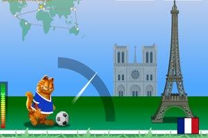 加菲猫足球世界行