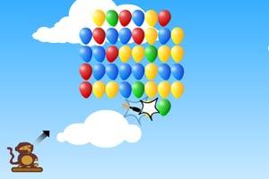 小猴子戳气球