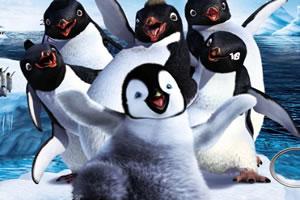 快乐的企鹅找数字2