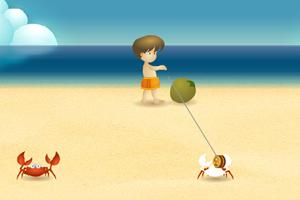 螃蟹小男孩