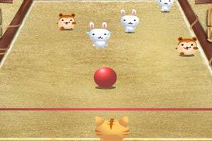 猫咪撞撞球
