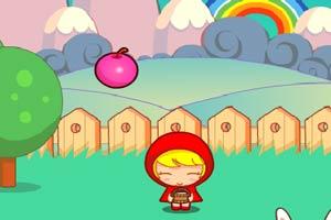 红苹果女孩