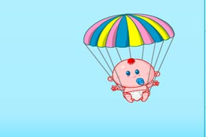宝宝降落伞