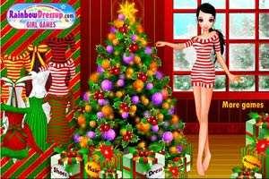 可爱圣诞打扮