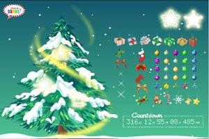 丰富圣诞树