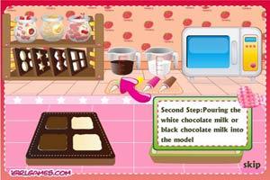 做甜蜜巧克力