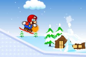 马里奥滑雪