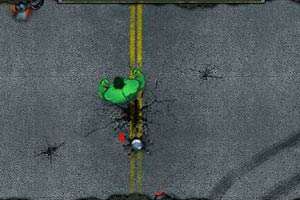 绿巨人大战机器