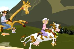 动物短跑赛