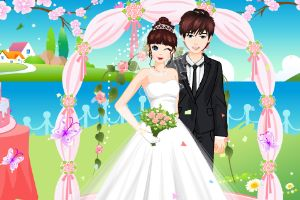 浪漫的婚礼装扮