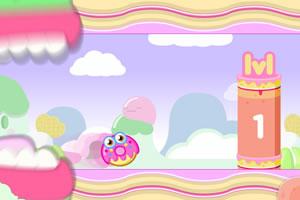甜甜圈逃命