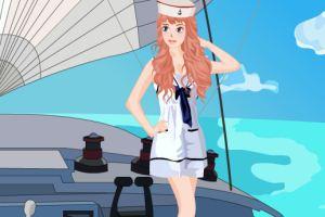 漂亮女水手