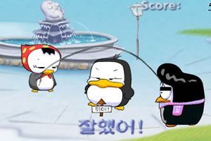 胖企鹅跳绳