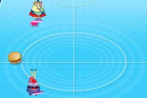 海绵宝宝打冰球