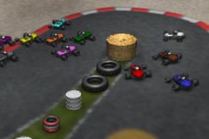 3D红色卡丁车