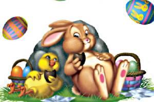 欢乐复活节拼图