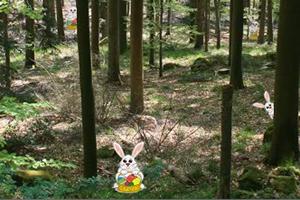找出复活节兔子