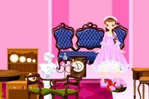 公主娃娃房间装饰
