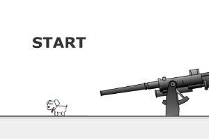 别射击这只小狗