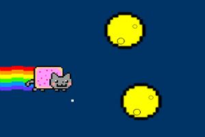霓虹猫飞翔