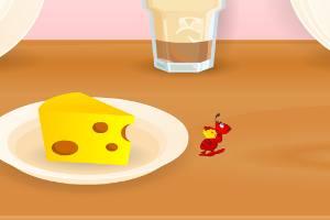 背奶酪的蚂蚁