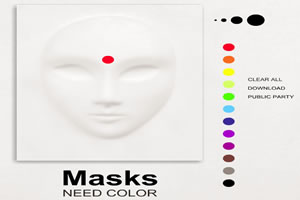 面具需要色彩