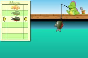 小恐龙钓鱼