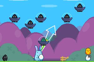 鸡蛋射外星人