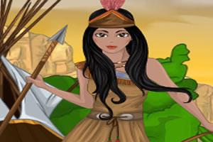 印第安女勇士