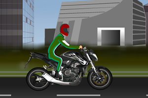 经典改造摩托