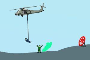 野战直升机