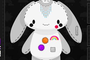 制作彩虹兔子