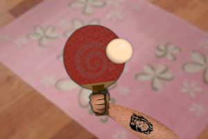 反弹乒乓球
