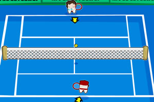 可爱网球赛
