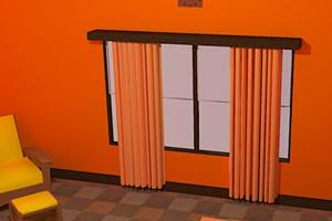 逃出橘红色房间