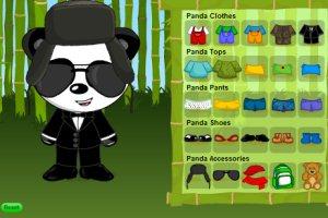 时尚小熊猫