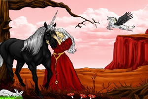 公主和独角兽