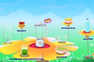 酸甜青苹果汁