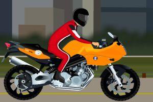 摩托车竞速比赛
