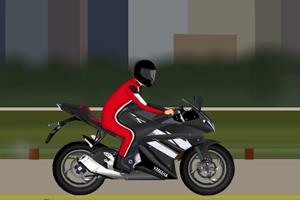 休闲摩托车