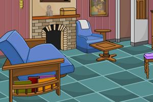 逃出壁炉客厅