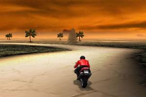 简易3D摩托车赛