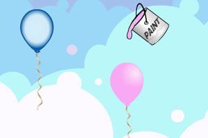 娃娃-气球染色