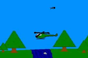 杂耍直升机