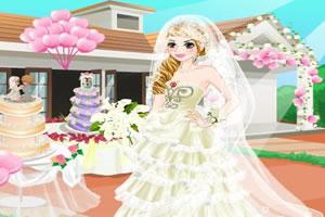 芭比的水晶婚纱