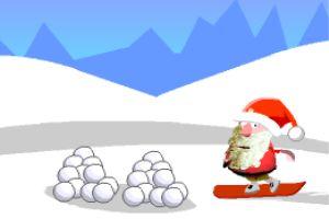 圣诞老人学滑板