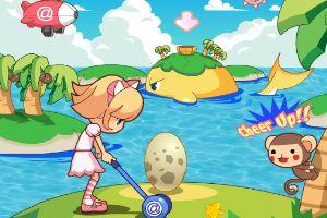 椰风岛打棒球