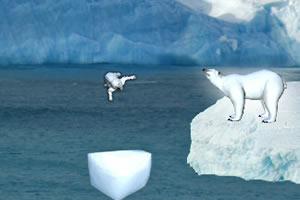 帮北极熊回家