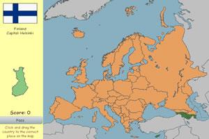 欧洲版块拼图